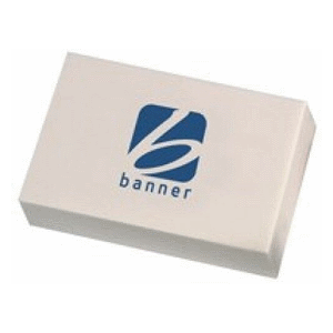 Banner Large Office Pencil Eraser White 9250016