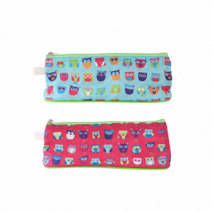 Tallon Pencil Cases Assorted Colours, Owl 6852 – Pack of 12