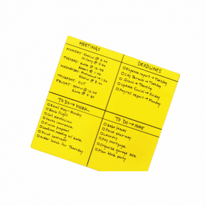 Post-it Super Sticky Yellow Big Notes 558x558mm Pack of 30