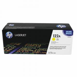 HP 122A Laserjet Yellow Toner Cartridge