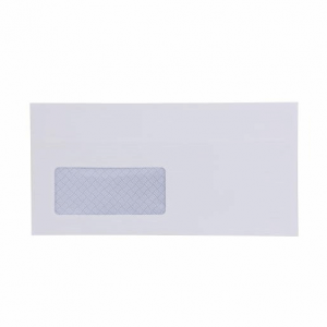 Postpak White DL Window Envelope 5 Pack