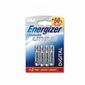 Energizer Ultimate Lithium AAA Battery Pack of 6 629763