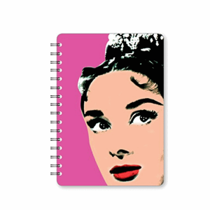 Go Stationery Art Icons A5 Audrey Notebook