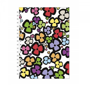Go Stationery Bright Floral A5 Notebook – Multi-Colour