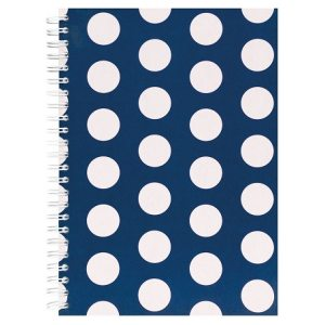 POLKA A5 NOTEBOOK NAVY