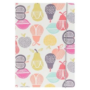 GO STATIONERY RETRO ORCHARD A5 NOTEBOOK