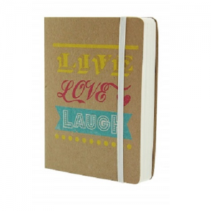 Go Stationery Kraft Typo A6 Notebook