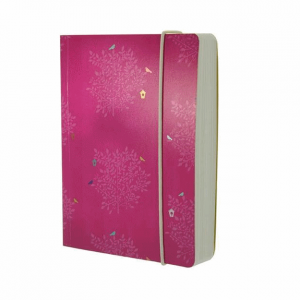 GO STATIONERY CERISE TREES A6 NOTEBOOK