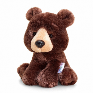 Keel Toys PIPPINS BROWN BEAR Branded Soft Toy Stuffed Animal