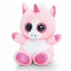 Keel Toys Animotsu 15cm Unicorn Beanie Cuddly Soft Toy Plush
