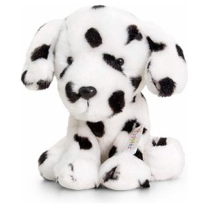 Keel Toys Soft Toy Dog Dalmatian Black & White 14″
