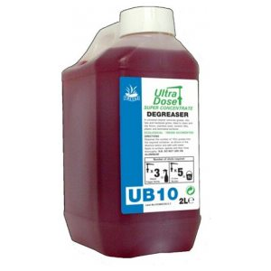 Ub10 Degreaser Super Concentrate  4 X 2l (Pack of 4)
