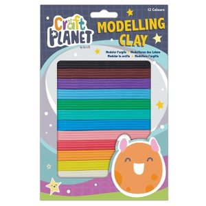 Modelling Clay 12 colours  (Pack of 6)