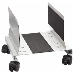 Q-Connect CPU Holder Mobile Square with Wheels KF02197