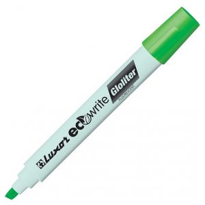 Luxor Eco Gloliter Highlighter Marker Pen 12 Pack Green