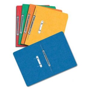 Premier Plus Mottled Spiral File Blue FS Pack of 25