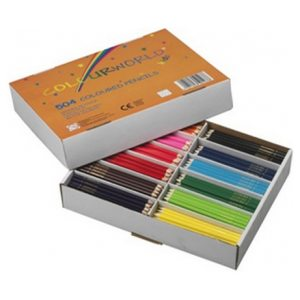 Colourworld Colouring Pencils Pack of 504 Assorted Colours