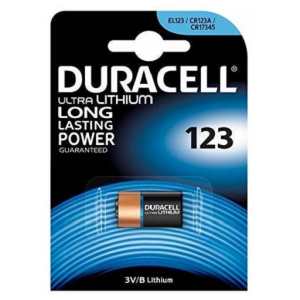 Duracell Ultra Battery Camera 3V DL123A 2024