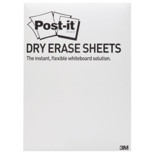POST-IT SS DRY ERASE SHEETS 279X390 P15