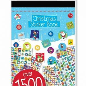 Christmas Sticker Book 1500 Stickers per Book Pack of 48 Books