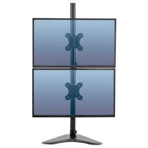 Fellowes Dual Vertical Monitor Arm