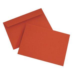 C6 Envelope P Seal Pillar Box Red Pk250