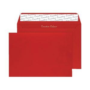 C4 Envelope P Seal Pillar Box Red Pk250