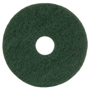 15IN STANDARD SPEED FLOOR PAD GREEN PK5