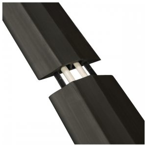 D-Line Floor Cable Cover 83mm Std Blk 9m