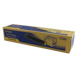 Epson AcuLaser C9100 Acubrite Yellow Toner Cartridge S050195 C13S050195