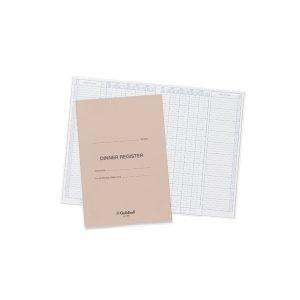 Guildhall Annual Dinner Register E200Z