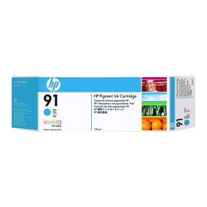 HP 91 Inkjet Cyan Cartridge (Pack of 3) C9483A