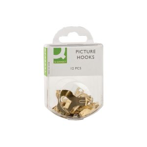 Q-Connect Picture Hooks (Pack of 20)