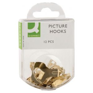 Q CONNECT PICTURE HOOKS PK12