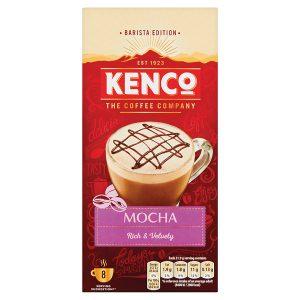 Kenco Mocha Instant Sachet (Pack of 8) 4041494