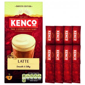 Kenco Caffe Latte Instant Sachet (Pack of 8) 4031816