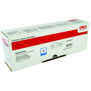 Oki C5200/C5400 Cyan Toner Cartridge 42804507