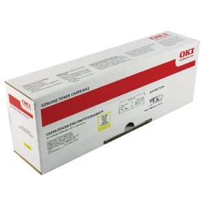 Oki Yellow Toner Cartridge High Capacity 42127454