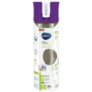 Brita 600ml Vital Water Bottle Purple