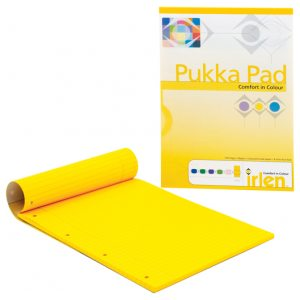 Pukka Pad A4 Refill Pad Gold 100 sheets 80gsm Pack of 6