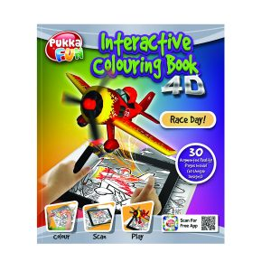 4D INTERACTIVE COLOURING/ACT BK RACE DAY