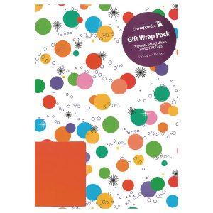 Gift Wrap Bright Spots Pk12