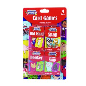 TALLON CARD GAMES FOR CHILDREN SET OF 4