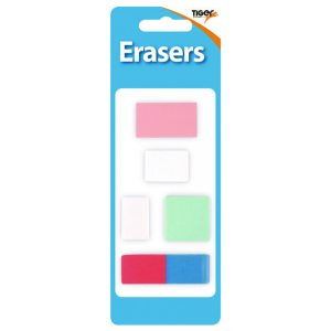 Assorted Design Erasers Pk60