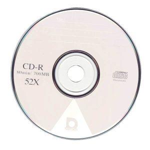 CD-R PLASTIC TUB 80MINS PK25