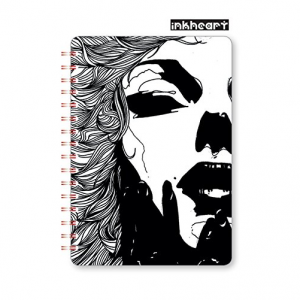 GO STATIONERY ART ICONS A5 NOTEBOOK INKHEART GRACE
