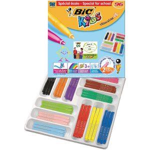 Bic Kids Visacolor XL Felt Pens Assorted (Pack of 96) 887839