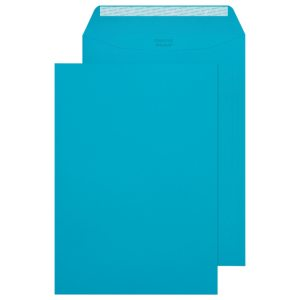 C4 Pocket Envelope Peel and Seal 120gsm Cocktail Blue (Pack of 250) 409P