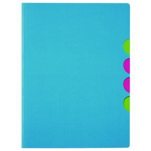 Durable Pagna 5-part Folder A4 Light Blue (Pack of 10) 4180313