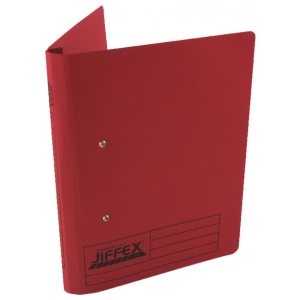 Rexel Jiffex Transfer File A4 Red (Pack of 50) 43248EAST